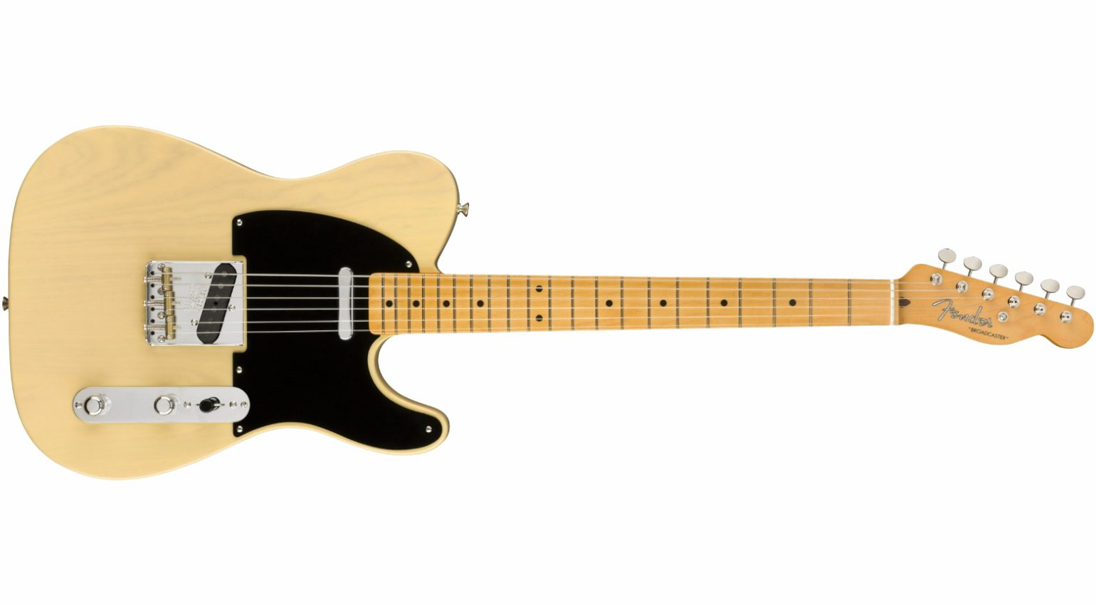 Fender 70th Anniversary Broadcaster Telecaster Front 1
