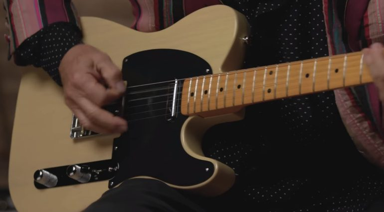 Fender 70th Anniversary Broadcaster Telecaster Front