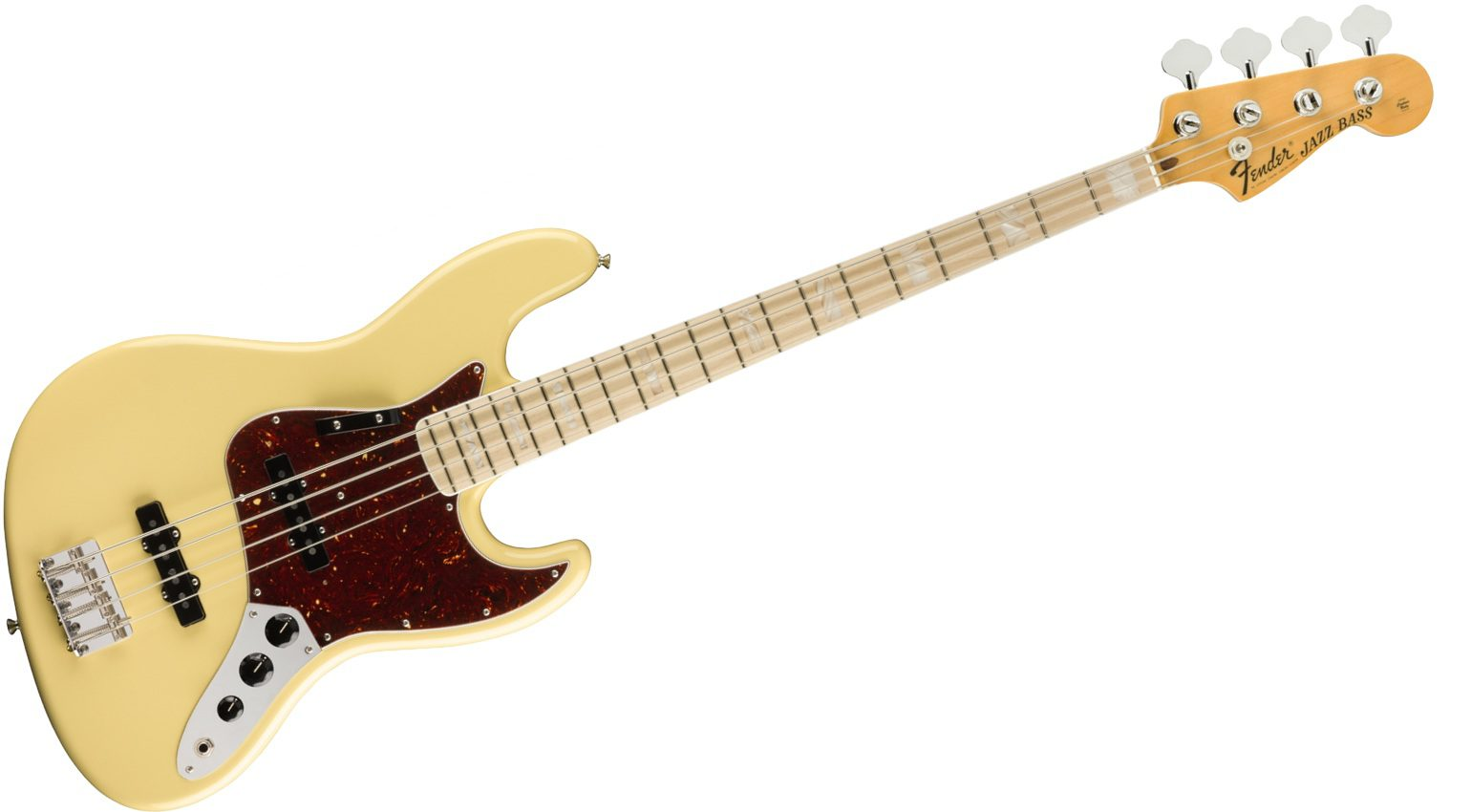 Fender Vintage White 70s Jazz Bass