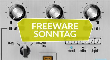 Freeware Sonntag: Trumpet Fields, Echobox D7 und Anarchy Effects