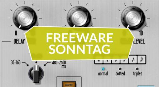Freeware Sonntag: Trumpet Fields, Echobox D7 und Anarchy Effects