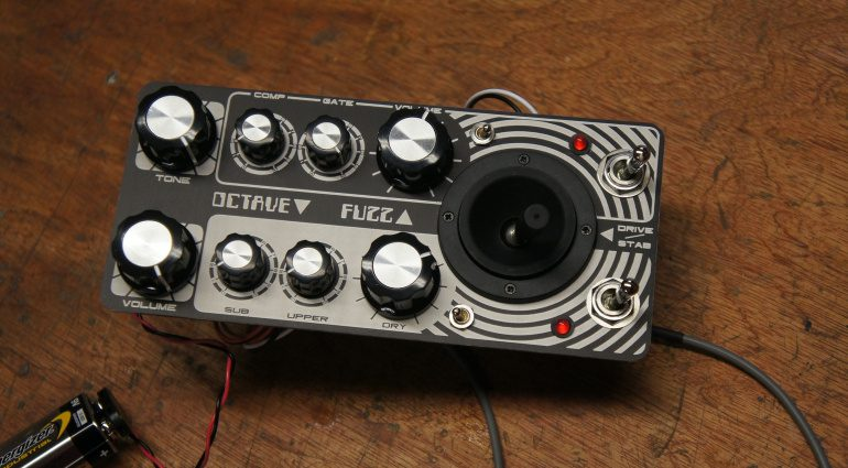 Fuzz Beast Les Paul Modifikation Effekt