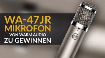 Warm Audio WA-47jr Großmembran-Mikrofon zu gewinnen!