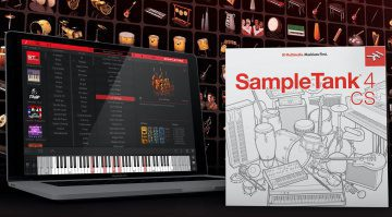 IK Multimedia veröffentlicht kostenloses SampleTank 4 Custom Shop Plug-in