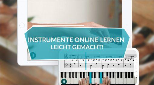 Instrumente online lernen leicht gemacht!