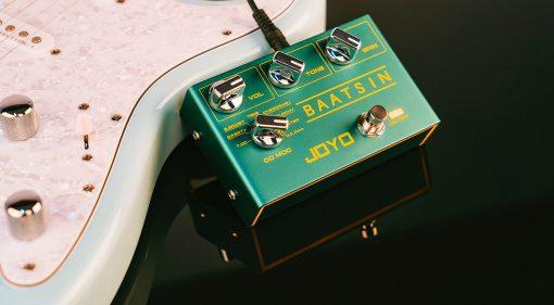 Joyo Baatsin Overdrive Distortion Effekt Pedal Gitarre