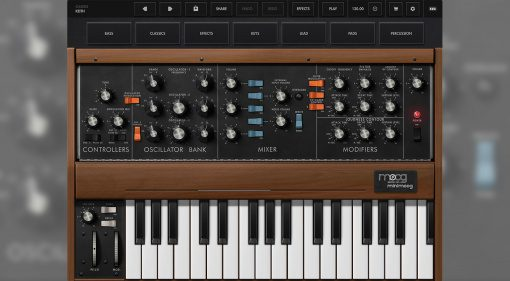 Moog Minimoog Model D iOS App