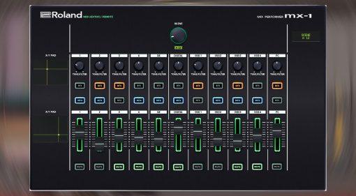 Momo Müller Roland MX-1 Editor: der Mix Performer als VST-Plug-in