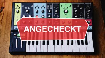 MOOG Grandmother angecheckt