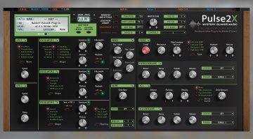 Mystery Islands Music Waldorf Pulse 2 Editor