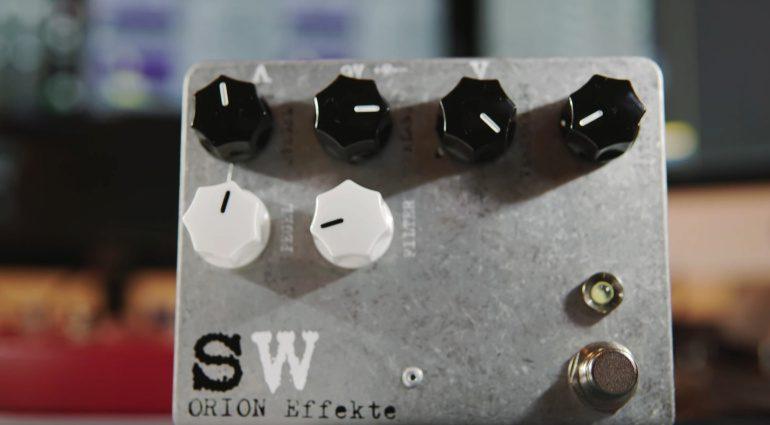 Orion Effekte Schwarzweiss Effekt Pedal