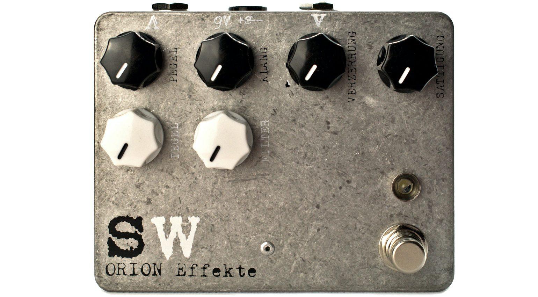Orion Effekte Schwarzweiss Effekt Pedal Front