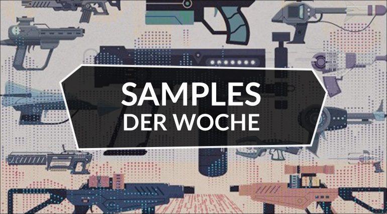 Samples der Woche: Wavemeister, Cadenza Violin, Sci-Fi Weapons