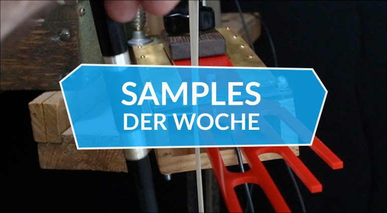 Samples der Woche: Daxophone, Karsten Collection, Lush, Free Pack