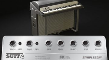 Sampleson Suit73: die DNA des Fender Rhodes Suitcase 73 in einem VSTi