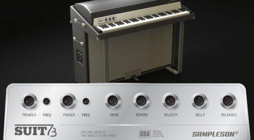 Sampleson Suit73: die DNA des Fender Rhodes Suitcase 73 in einem VSTi