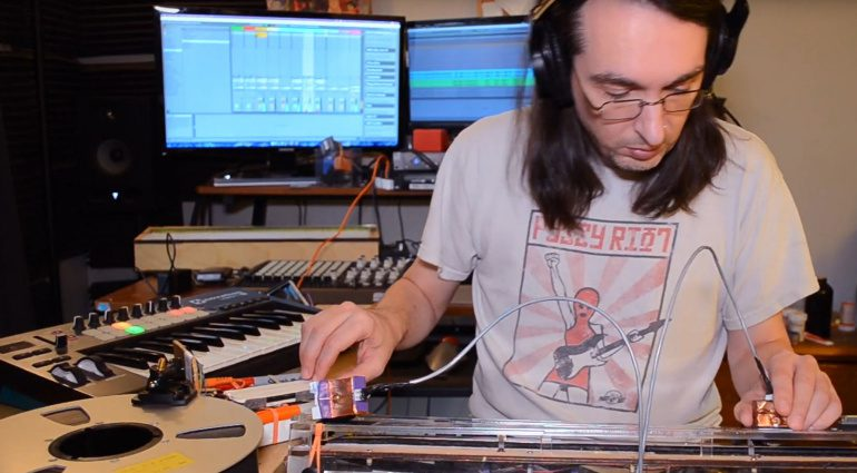 Das DIY Tape-Loop Scratch-System Scrubboard goes Peter Piper