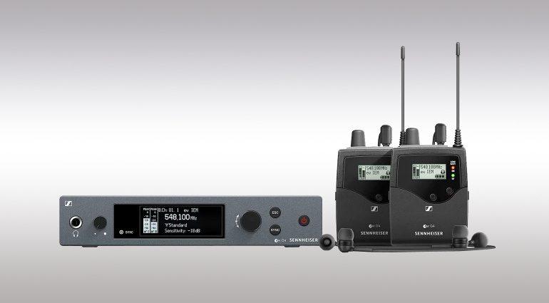 Angebot für Sennheiser EW IEM G4 In-Ear-Systeme mit zwei Empfängern