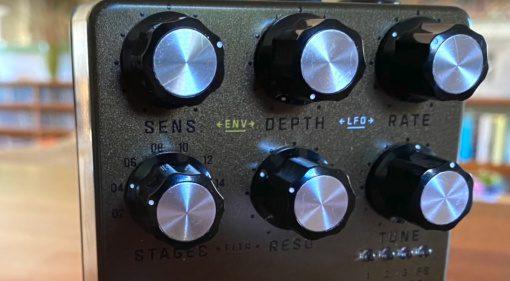 Seymour Duncan Polaron Analog Phaser Effekt Pedal Front POtis