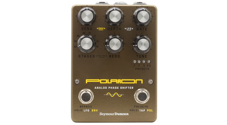 Seymour Duncan Polaron Analog Phaser Effekt Pedal Front