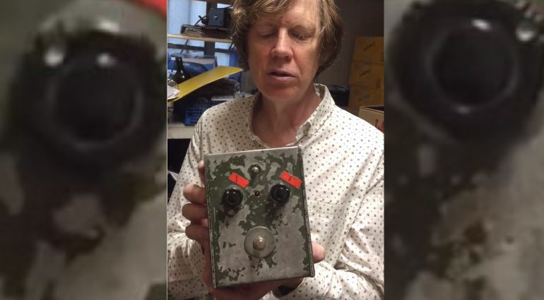 Sonic Youth Thurston Moore Big Muff Cafe OTO Charity