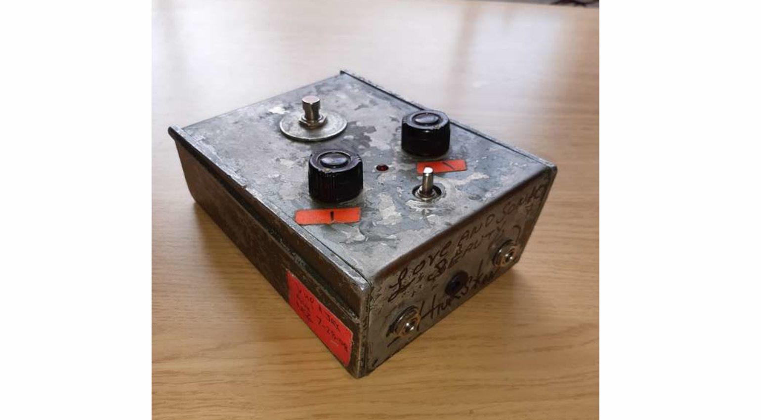 Sonic Youth Thurston Moore Big Muff Front