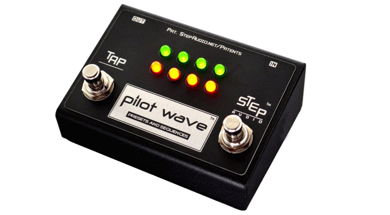 Step Audio Pilot Wave MIDI Controller Pedal Effekt Slant