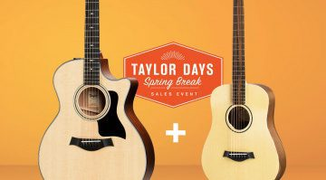 Taylor Days Spring Break Teaser Dreadnought Baby Deal