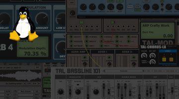 Togu Audio Line TAL Plug-ins Linux