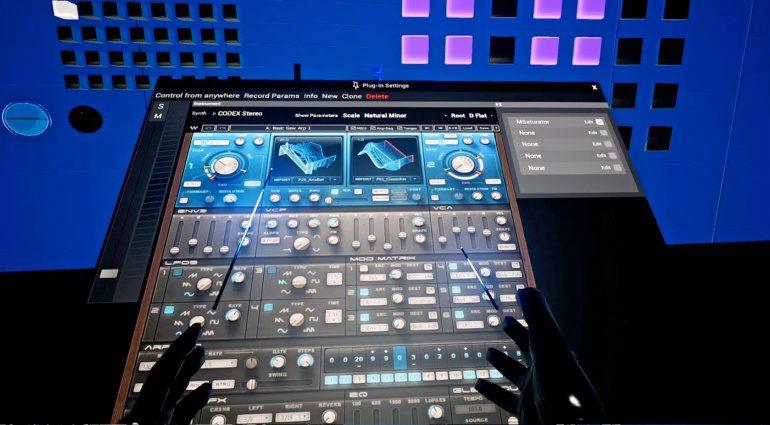 VST Plug-ins in der Virtual Reality steuern – Tranzient macht´s möglich.