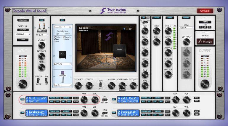 Two notes Audio Engineering verschenkt zwei Cabs für Torpedo Wall of Sound
