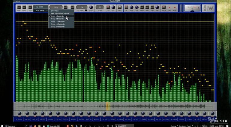 Wusik MSTR: Analyzer und Multiband Equalizer in einem Plug-in