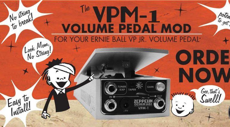 Zeppelin Design Labs VPM1 Ernie Ball Mod Teaser