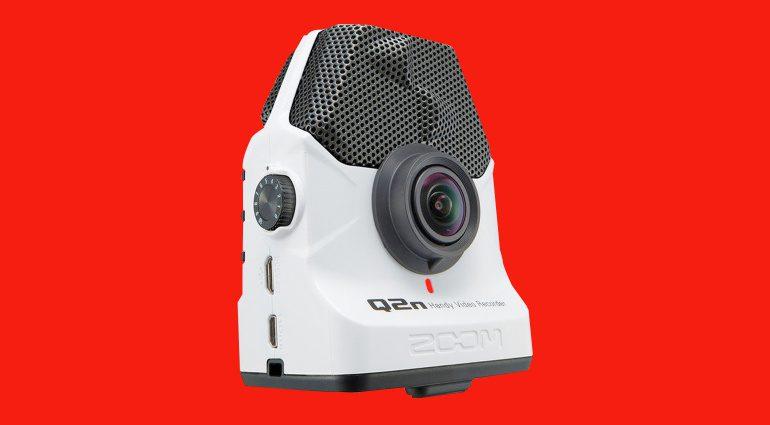 Audio- und Video-Streaming mit Zoom Q2n White für 99 Euro