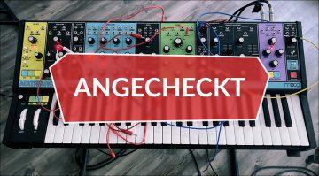 Angecheckt: Moog Matriarch - Analog-Synthesizer mit fast vier Stimmen?