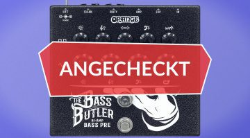 Angecheckt: Orange Bass Butler