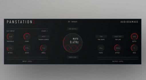 Audio Damage Panstation 2: Drawmer M500 Engine für Mac, Windows, Linux und iOS