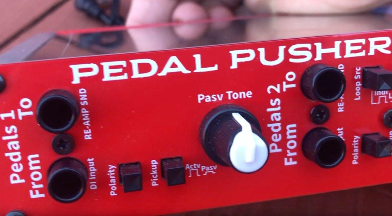 Audio Simplified Pedal Pusher Rack Tool FX Loop Front