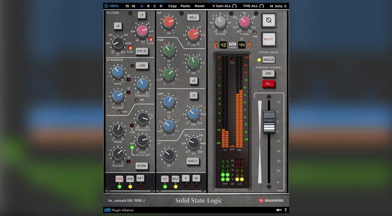 Brainworx bx_console SSL 9000 J: