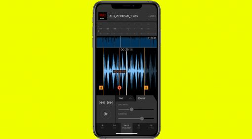 Pioneer DJM REC für iPhone und iPad