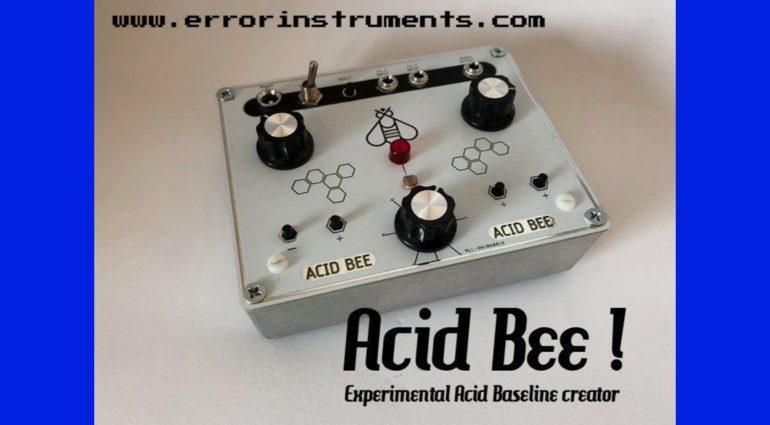 Error Instruments Acid Bee
