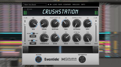 Eventide CrushStation: H9 Overdrive und Distortion als VST und für iOS