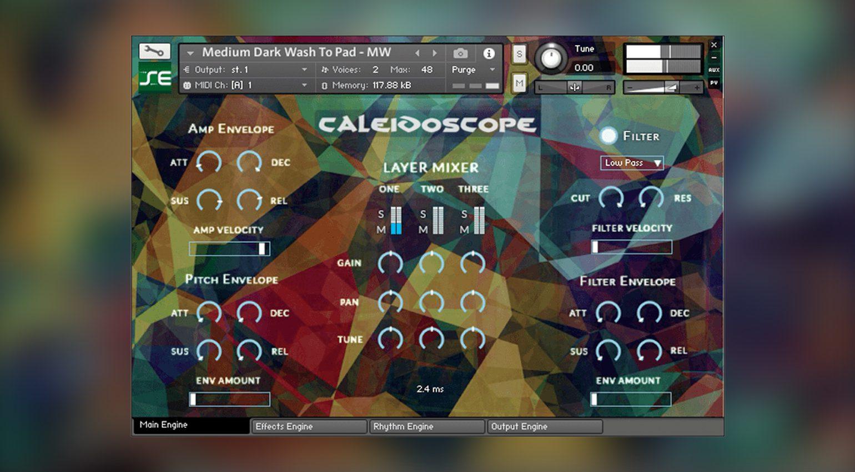 Kontakt Hub Caleidoscope