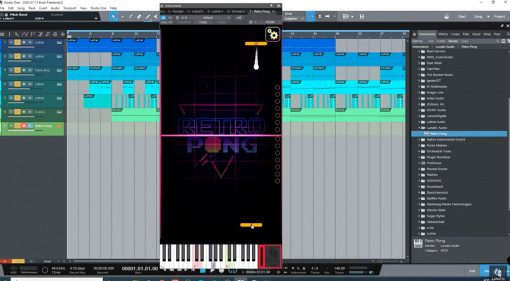 Freeware: Lunatic Audio bringt Kultspiel Retro Pong in die DAW