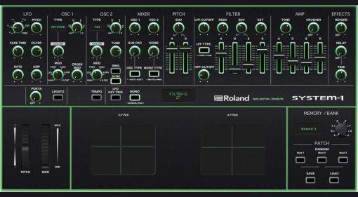 Momo Müller Roland System-1 Editor