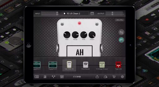 Mooer GE Labs iOS GUI