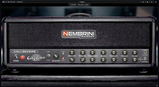 Nembrini Audio Cali Reverb Modern High Gain