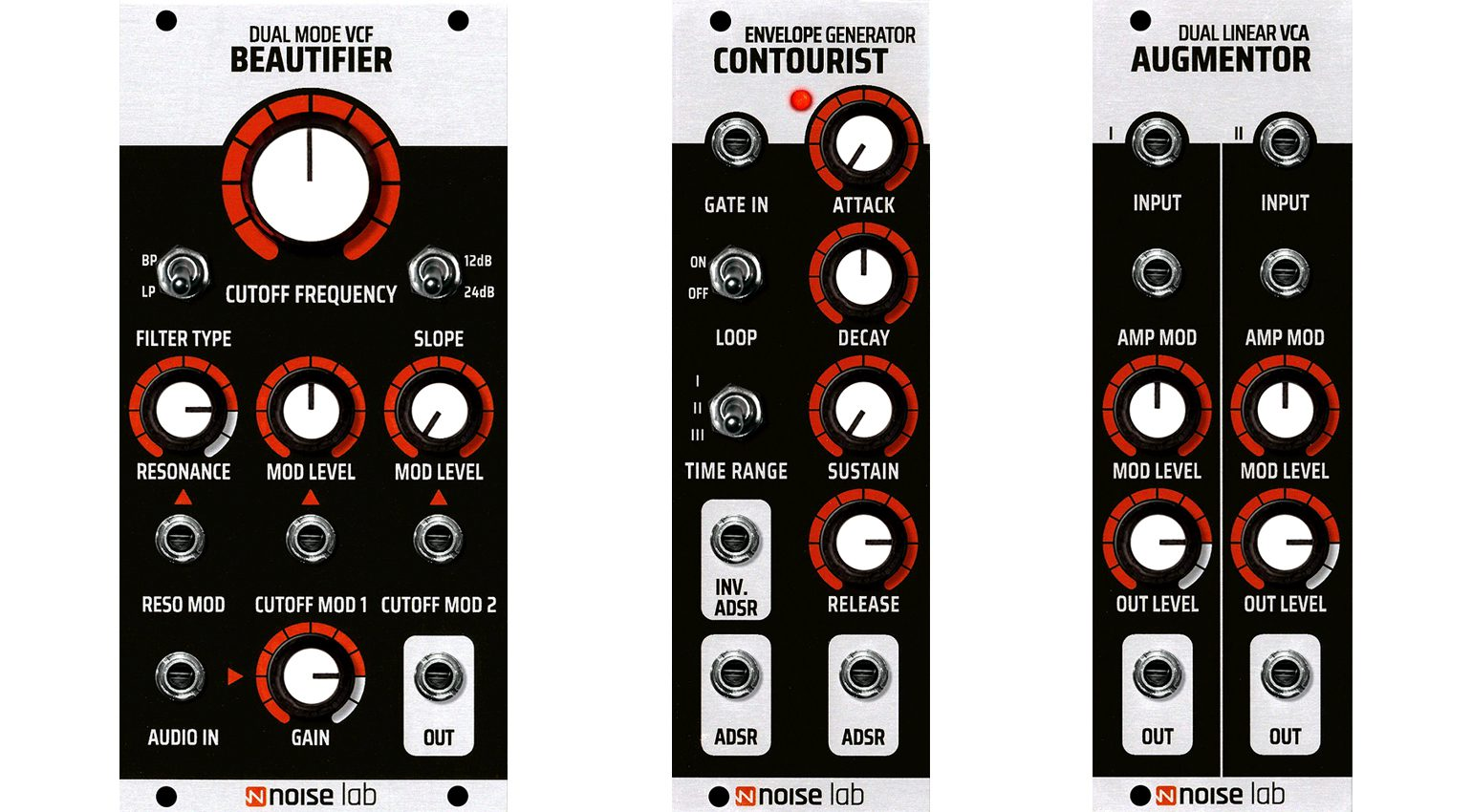 Noise Lab Beautifier, Contourist, Augmentor