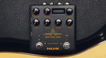 NUX Optima Air Effektpedal Front