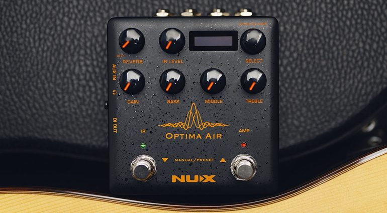 NUX Optima Air Effektpedal Front